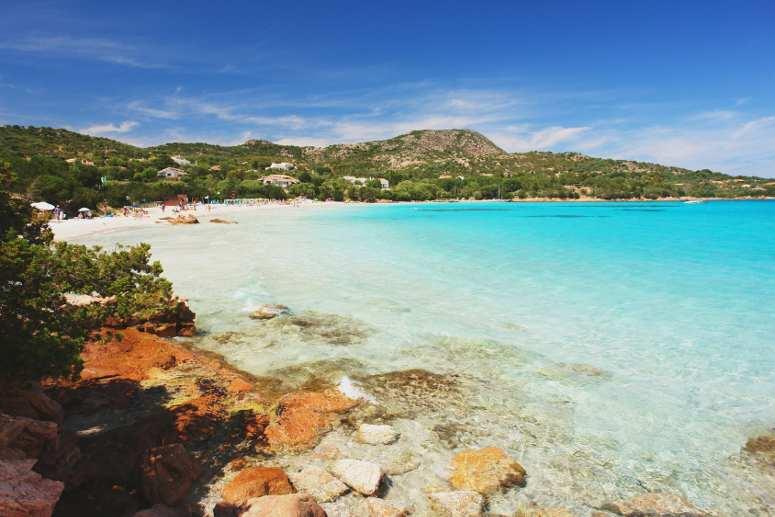 La meravigliosa spiaggia di Porto Istana, Sardegna