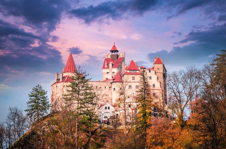 Il Castello di Dracula, a Bran