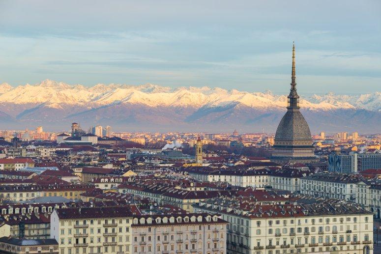 Torino durante le Luci d'Artista