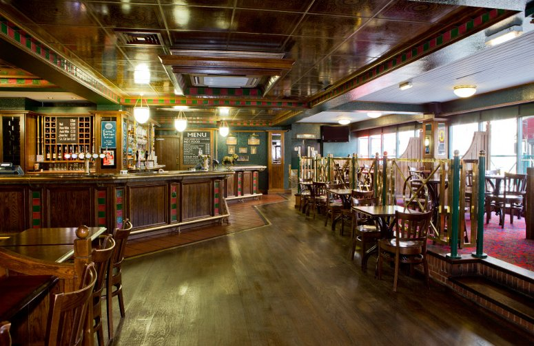 Il pub del Royal National a Londra