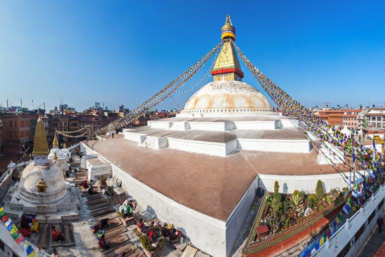 Kathmandu, città reale del Nepal