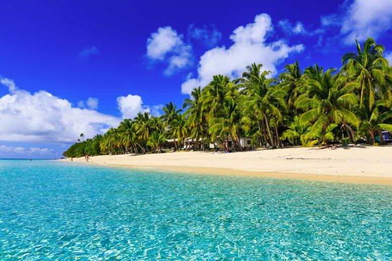 Il paradiso delle isole Fiji, arcipelago dell'Oceania, nel sud del Pacifico.