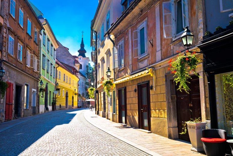 Inizia la tua visita di Lubiana dalla città vecchia.