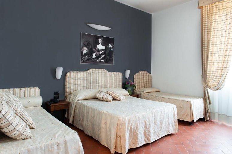 Hotel Caravaggio a Firenze.