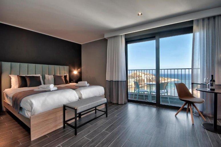 Il Be.Hotel di Malta.