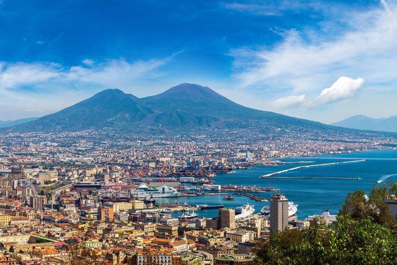 La meraviglia del Golfo di Napoli.