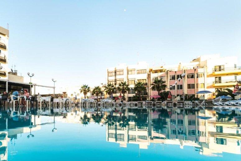 Hotel Topaz, Malta.