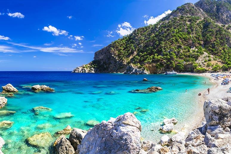 Karpathos: una delle isole più belle della Grecia.