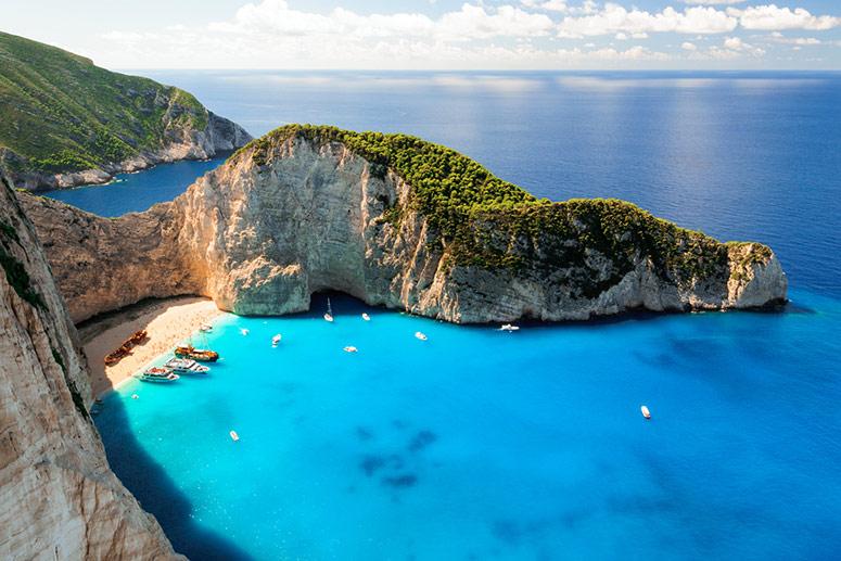 Zante: una delle isole greche più belle.
