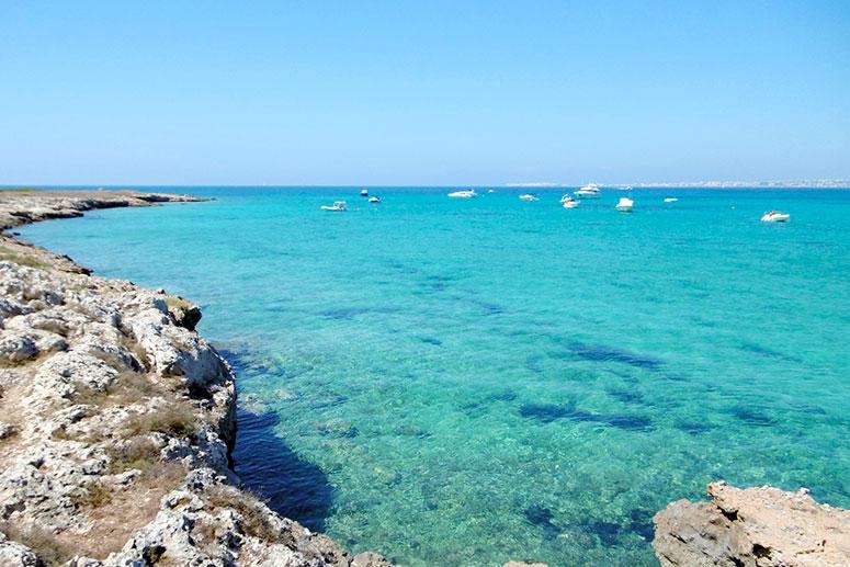 Le 10 spiagge più belle del Salento: Punta Pizzo, nel Parco naturale regionale dell'Isola di Sant'Andrea.