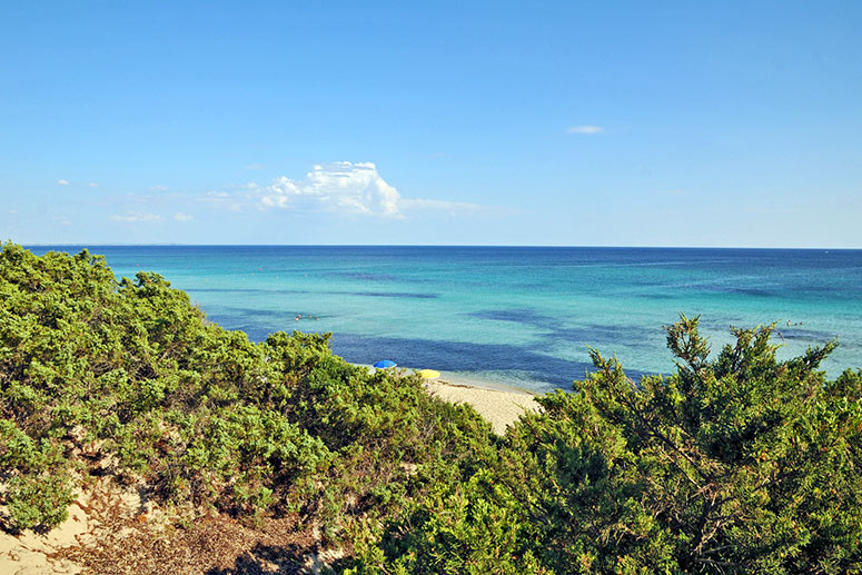 Le 10 spiagge più belle del Salento: Punta Prosciutto, nei pressi di Porto Cesareo.