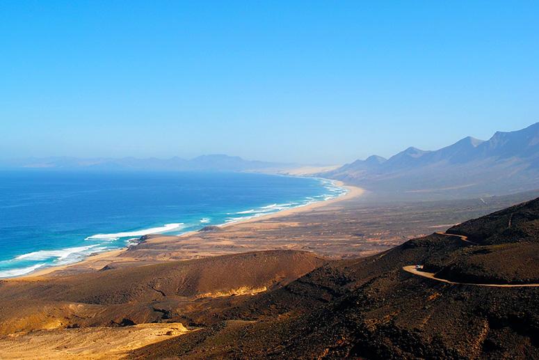 Cofete: una delle spiagge più belle di Fuerteventura.