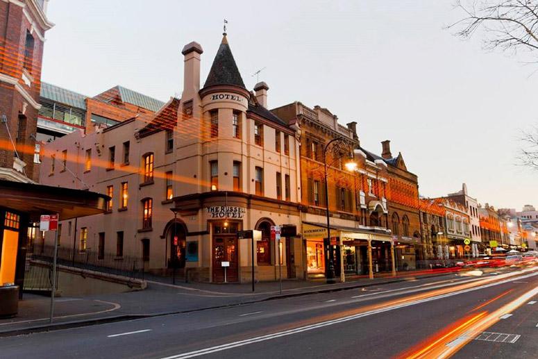 Gli hotel più infestati del mondo: The Russell Hotel, Sydney