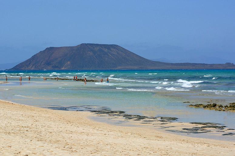 Fuerteventura cosa vedere: L'isola di Lobos, riserva naturale di Fuerteventura